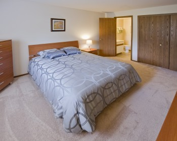 Master Bedroom – 2 Bedroom Unit