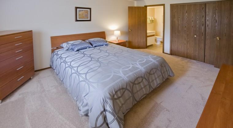 Master Bedroom – 2 Bedroom Unit